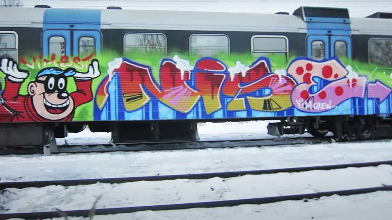 Trizz Graffiti DVD from Stockholm Sweden
