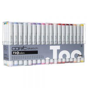Copic Sketch Marker Set 72B