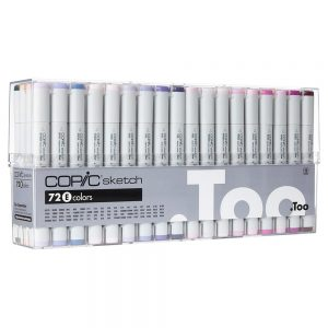 Copic Sketch Marker Set 72E