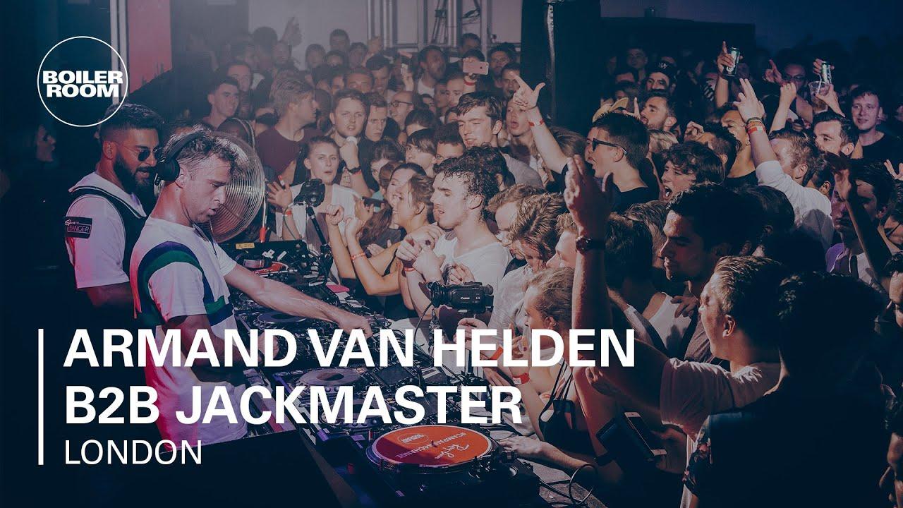 DJ MIXES- Armand Van Helden B2B Jackmaster - Boiler Room x Ray-Ban 009 - London DJ Set