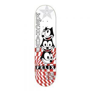 """Darkstar Skateboards Deck x Felix Vortex KeChaud Johnson 8"""""""