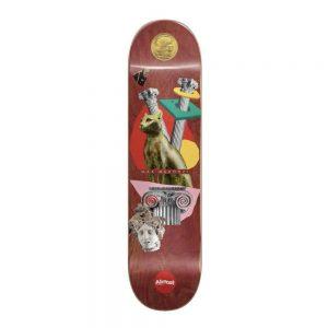 SPRAYISM Almost Skateboard Deck Relics Max Geronzi 8.375 Maroon R7