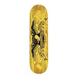 SPRAYISM Anti Hero Skateboard Deck Copier Eagle Gold 8.5