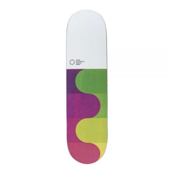Studio Skateboard Deck Montreal 2020 Team 8.25 Purple Green