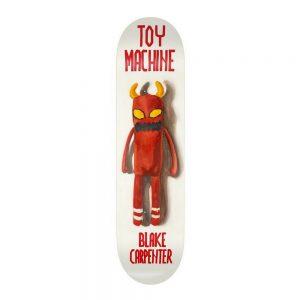 Toy Machine Skateboard Deck Doll Blake Carpenter 8.375