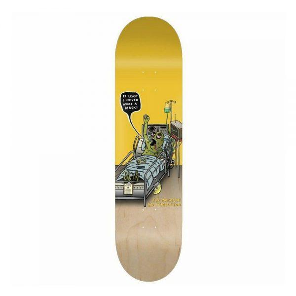 Toy Machine Skateboard Deck Mask Ed Templeton 8.5