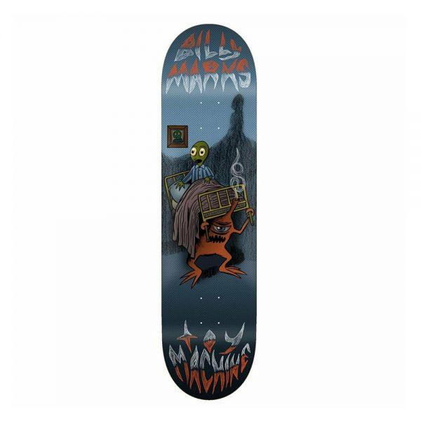 Toy Machine Skateboard Deck Under The Bed Billy Marks 8.0