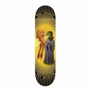 Toy Machine Skateboard Deck X-Ray Eyes Axel Cruysberghs 8.25