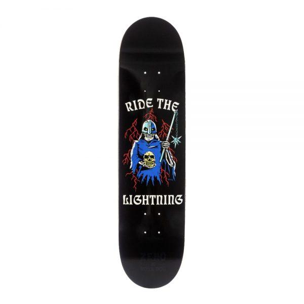 Zero Skateboard Deck Burman Ride the Lightning 8 Boss Dog Collab