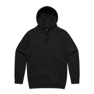 AS Colour Mens Stencil Hood Black Front